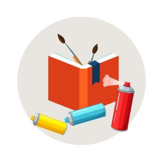 Creamos ilustraciones originales y totalmente personalizadas. Ilustraciones en revistas, portadas para libros y cuentos o para cualquier contenido editorial.