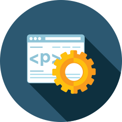 Implementamos portales y ecommerce mediante desarrollos propios, hechos a media, pero también empleamos las plataformas más comercializadas: Moodle, Wordpress, Prestashop...